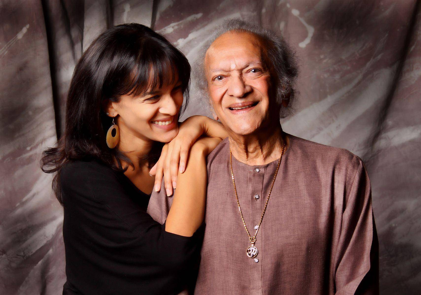 All In The Family: Ravi Shankar and his two daughters ...