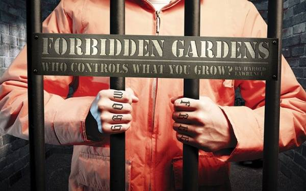 Could you go to jail for growing vegetables? Apparently so.
